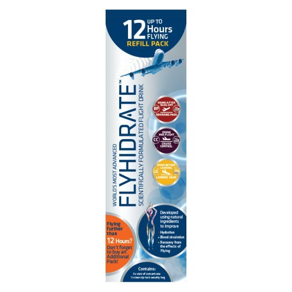 Flyhidrate 12 Hour Refill Pack